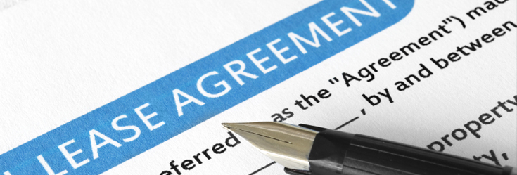 Photo of property management agreement
