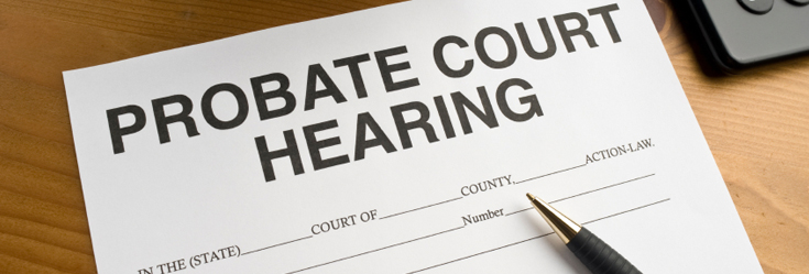 Probate Court Hearing document