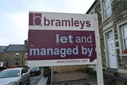 Bramleys To Let Board